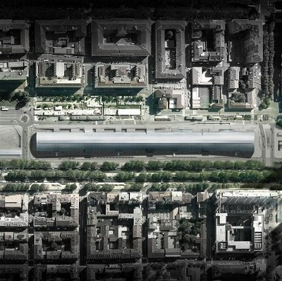 Gare nouvelle Porta Suza à Turin