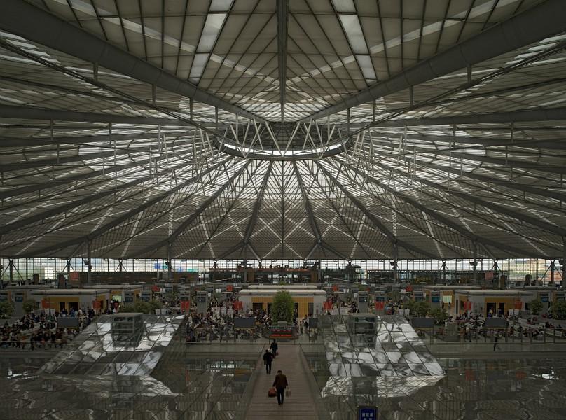 Gare nouvelle de Shanghai Sud