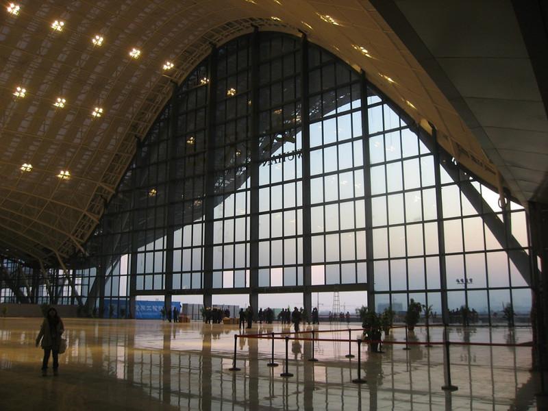 Gare nouvelle de Wuhan