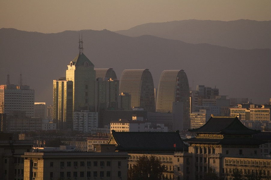 Centre d'affaires et pôle d'échanges Xizhimen à Pékin