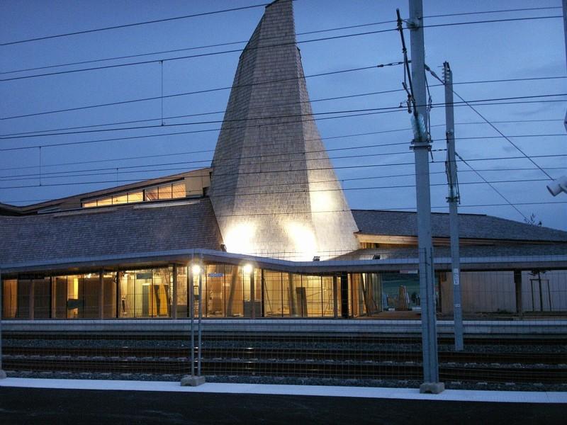 Gare nouvelle Meuse TGV, Voie Sacrée