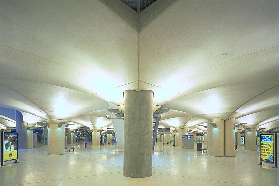 Gare nouvelle Paris Bibliothèque François Mitterrand