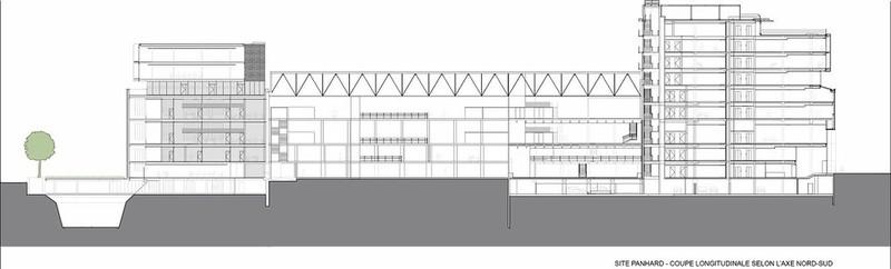 Restructuration et extension des anciens ateliers de l'usine Panhard à Paris
