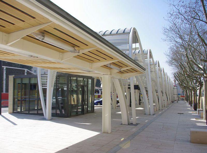 Restructuration de la gare routière d'Aix en Provence